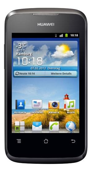 Das Ascend Y200 von Huawei ist erst bei Lidl, dann unter Fonic erhältlich.