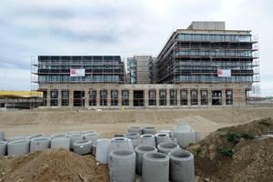 Soll neue Betriebe anlocken: das Technologiezentrum Aspern IQ in der gleichnamigen Seestadt in Wien.