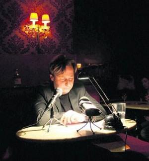 """Jeden Tag ein Thriller-Fragment: Autor Gergely Teglasy las aus """"Zwirbler"""", dem ersten Facebook- Roman."""