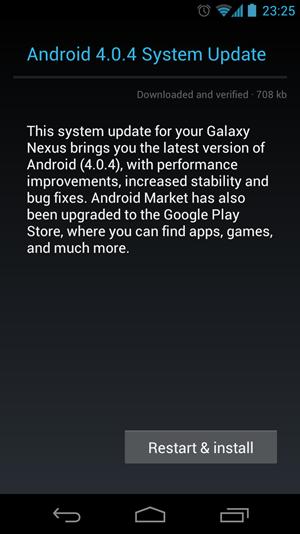 Das aktuelle Update beschränkt sich auf die Fehlerbereinigung und ist mit 708 kByte relativ klein.