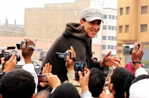 Der junge Rapper El Haqed.