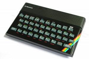 Unverkennbar: Der ZX Spectrum von Sinclair.
