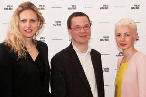 Vita Zaman, Sergey Skaterschikov und Christina Steinbrecher (v.l.n.r.).