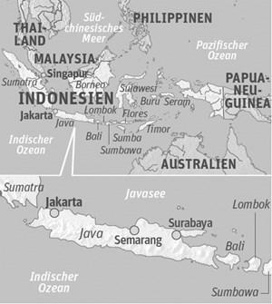 Reisezeit: Die Lage südlich des Äquators lässt Java vom asiatischen Sommermonsun-Schema abweichen: Ab Mai bis Oktober herrscht hier Trockenzeit.Anreise: Keine Direktflüge nach Zen-traljava. Verbindung u. a. mit Singapore Airlines (via Frankfurt und Singapur) nach Bandung oder Solo City.losaricoffeeplantation.com kurakuraresort.comtourismus-indonesien.de
