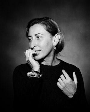 ...und Miuccia Prada.