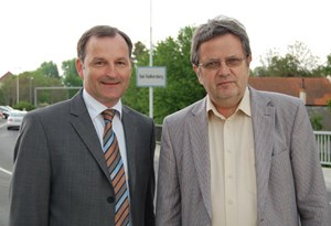 """Die Bezirkshauptleute Alexander Majcan und Wilhelm Plauder: """"Wir sind eine Behörde, die den Menschen in die Augen schaut."""""""