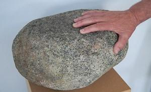 Der Olivin ist eines der wichtigsten Mineralien des Vulkanlandes.