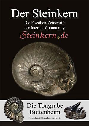 Ebenfalls neu im Frühjahr: die überarbeitete Neuauflage der lange vergriffenen Spezialausgabe über die Fossilien der Tongrube Buttenheim in Oberfranken.
