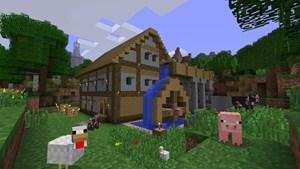 Minecraft auf Xbox 360 mit den Kernstärken der PC-Version