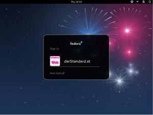 """Wie bei jeder Release gibt es auch für das mit dem Codenamen """"Beefy Miracle"""" genötigte Fedora 17 ein neues Wallpaper."""