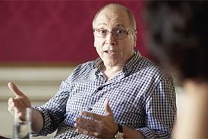 Walter Hoffmann ist Psychoanalytiker im Institut IFAT (Institut für angewandte Tiefenpsychologie) in Wien