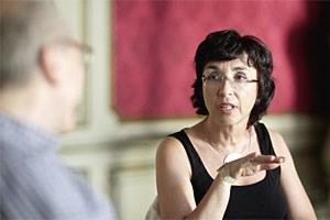Sabine Bösel ist Paartherapeutin. Sie und ihr Mann arbeiten gemeinsam nach der Imago-Methode.