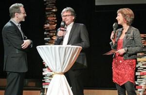 Heinz Sichrovsky, Alexander Wrabetz und Barbara Rett bei der ORF III-Programmpräsentation.