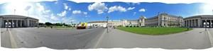 Rundumblick über den Heldenplatz.