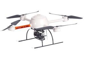Professionelle Mini-Drohnen, ab ab 8.400 Euro netto ist man dabei.