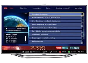 Die TVthek als App.