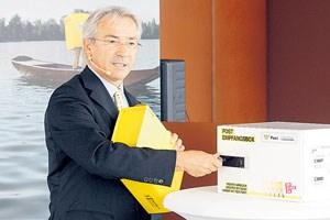 Post-Chef Pölzl: Das Glück habe dem Unternehmen ein wenig in die Hände gespielt.