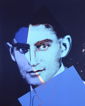 "Andy Warhol ""Franz Kafka, 1980""/ © The Andy Warhol Foundation for the Visual Arts.Inc./VBK, Wien 2011. Courtesy Ronald Feldman Fine Arts, New York"