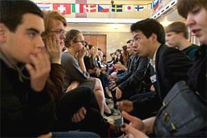 Selbst nachzudenken und zu argumentieren, aber auch das Gegenüber zu verstehen, ist zentral bei der Philosophieolympiade, die heuer 81 Jugendliche aus 40 Ländern in Oslo versammelte.