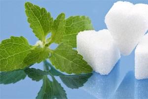 Stevioside mit vielen Traubenzuckerbausteinen schmecken besonders süß.