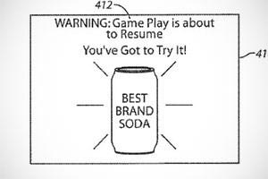 Werbung unterbricht Spiel und warnt dann vor der Fortsetzung.