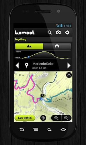 Komoot steht in neuer Version für Android zur Verfügung.