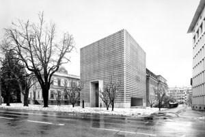 Mit dem Team EBV war Dieter Bogner zweimal in der Schweiz erfolgreich: Entwurf für die Erweiterung des Museums in Chur.