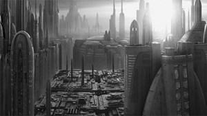 Spieler schlüpfen in die Rolle eines Kopfgeldjägers auf dem Planeten Coruscant.