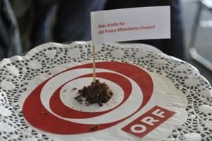 Im Jänner 2012 machten die freien ORF-Mitarbeiter ihren Protest über die niedrigen Honorare öffentlich. Seit dem Frühjahr laufen die Verhandlungen um eine Erhöhung.