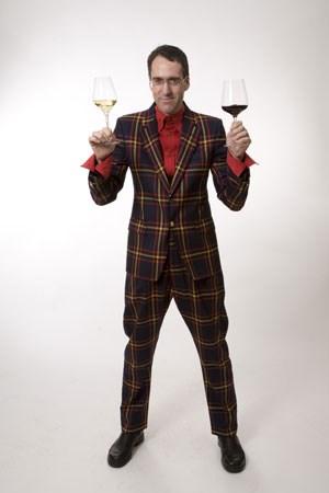 Stuart Pigott, Reisender in Sachen Wein.