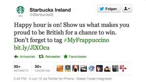 Mit diesem Post schoß sich Starbucks Ireland bei vielen Kunden ins Aus.