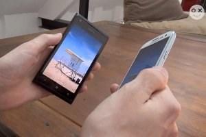 Das Lumia 900 und das Galaxy S3
