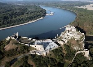 Burg Devin am Zusammenfluss March/Donau.