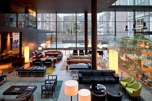 Ein Einblick in das Hotel Conservatorium in Amsterdam.
