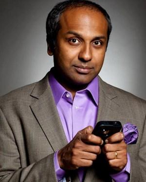 Sree Sreenivasan denkt über jeden Tweet drei bis sechs Minuten nach, bevor er ihn ins World Wide Web schickt.