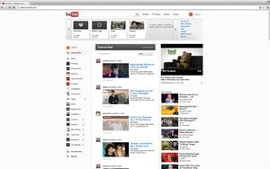 Das Redesign von YouTube ist an Google+ angelehnt, inklusive White Space.