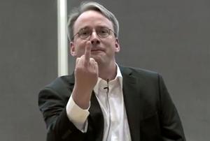 Linus Torvalds ist von Nvidia sichtlich genervt.