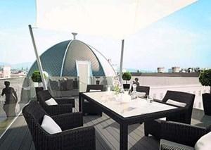 Vier sogenannte Kuppelwohnungen gibt es im Kempinski in Wien.