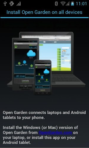 Hotspots leicht gemacht: Open Garden für Android, Mac OS und Windows
