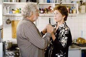"""""""Ich erfuhr zuerst, wer die anderen Schauspieler sind, und dachte: """"Wow! Das ist eine außergewöhnliche Chance."""" Jane Fonda in """"Und wenn wir alle zusammenziehen?"""" an der Seite von Pierre Richard."""