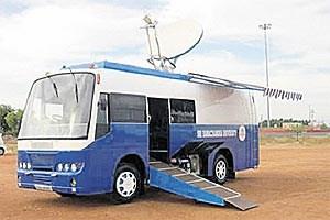 """""""Telemedicine Vans"""" sind in entlegenen Gegenden Indiens unterwegs, um die Bevölkerung medizinisch zu versorgen."""