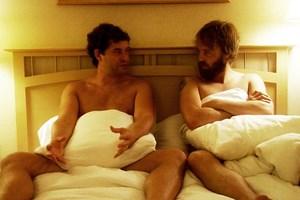 """Bereit, alles zu geben: Ben (Mark Duplass, li.) und Andrew (Joshua Leonard) in """"Humpday""""."""