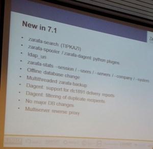 Zarafa 7.1 verfügt über eine neue Suche und unterstützt die Nutzung mehrerer Ldap-Server.