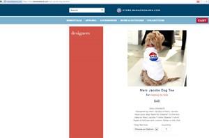 """""""I bark for Obama"""": Im Obama-Onlineshop für 40 Dollar zu haben."""