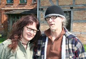 Birgit und Horst Lohmeyer wollen in Jamel bleiben...