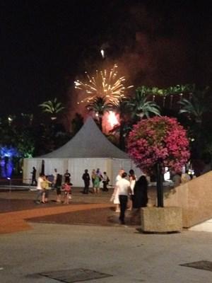 Mit einem Feuerwerk ging am Samstag Abend das Cannes-Festival zu Ende.