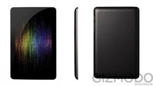Bei diesem Bild soll es sich laut Gizmodo Australien um das Nexus 7 von Google handeln.