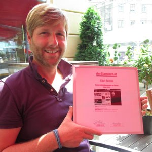 Freut sich über die Magenta-Maus: Roland Geissler, Head of Communications & Brand Management.