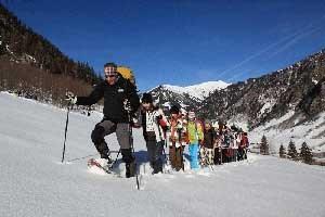 Nicht nur Schifahren, sondern zunehmend auch Schneeschuhwanderungen zeichnen sich als Wintererlebnis-Trend in heimischen Nationalparks ab.