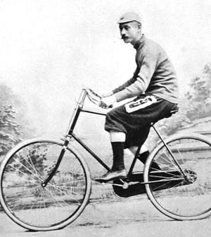 Georg Sorge war 1893 der Zweitplatzierte.